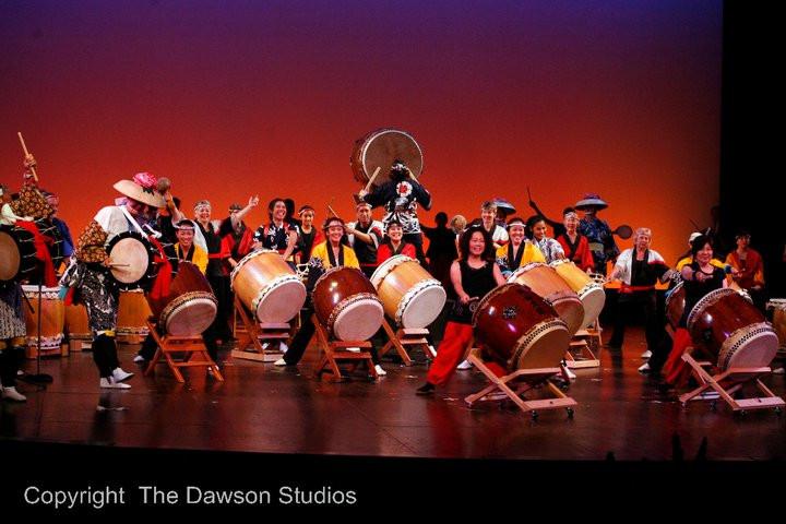 Sonoma County Taiko Anniversary concert