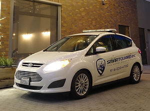 SMARTGUARD INC. eco-friendly security patrol vehicle