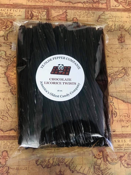 Chocolate Licorice Twists