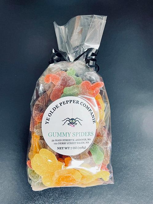 Gummy Spiders