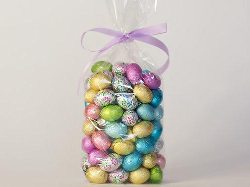 Foiled Chocolate Eggs, 7 Ounce Bag