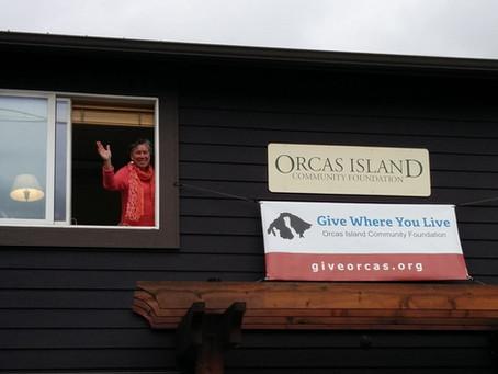 Orcas Island Community Foundation Executive Director Hilary Canty