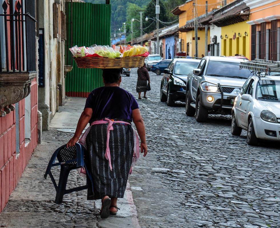 Traditional Guatemalan dress