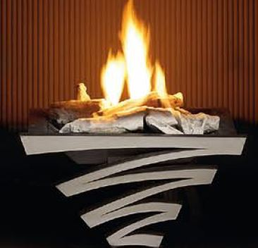 Astra Basket with gas fire