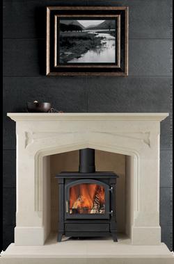 Eastnor Bath Stone Fireplace