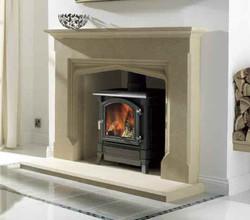 Porchester Bath Stone Fireplace