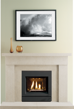 Hereford Bath Stone Fireplace