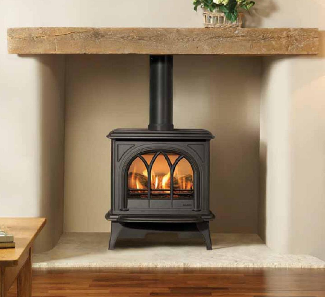 Huntingdon 30 balance flue gas stove
