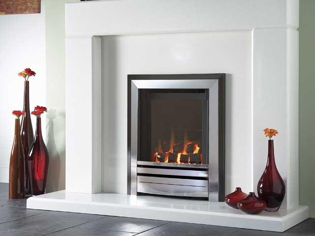Frontier gas fire