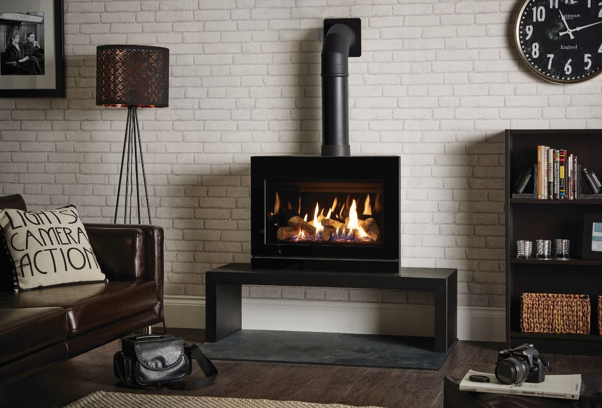 Riva 670 Gas log stove