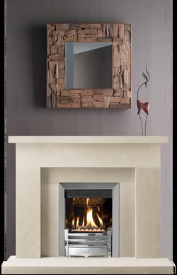 Loarre Bath Stone Fireplace