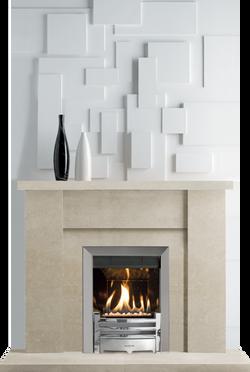Conisbrough Bath Stone Fireplace