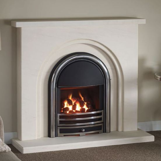 The Fontello 48 with Provident gas fire