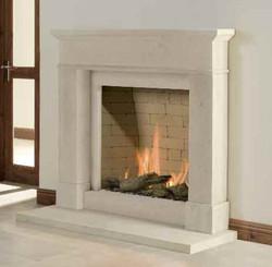 Colchester Bath Stone Fireplace
