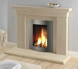 Iona Bath Stone Fireplace