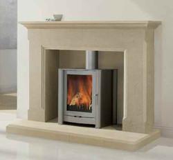 Ashton Bath Stone Fireplace