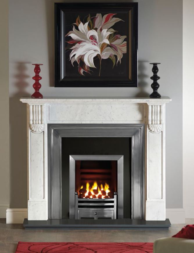 Grosvenor Carrara Marble surround