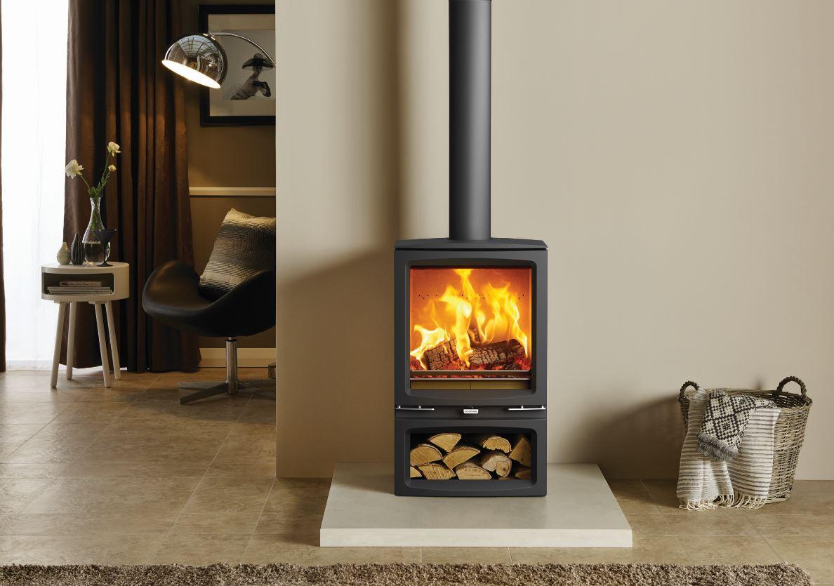 Voque Midi Log Burner
