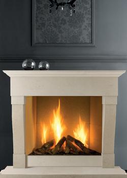 Rochchester Bath Stone Fireplace