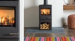 Yeoman-CL5- gas log stove