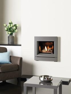 Designio Iridium Gas fire