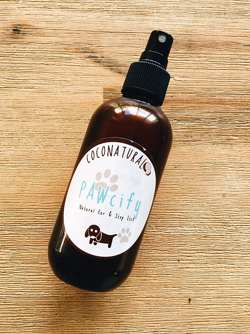 PAWcify Natural yeasty ear & stop itch spray for dogs 200ml