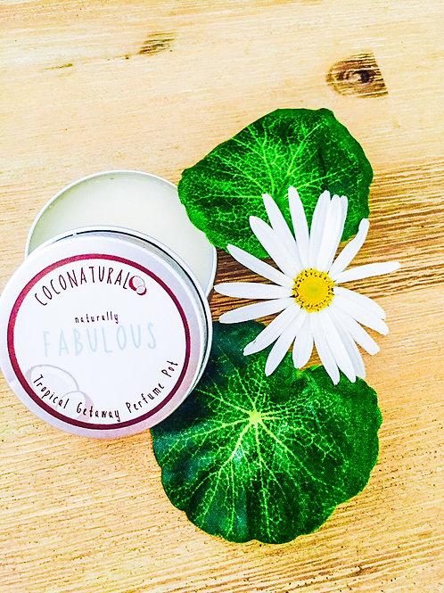 Naturally FABULOUS Tropical Getaway Perfume Pot