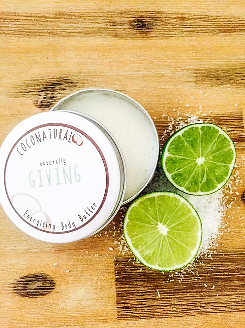 Naturally GIVING Energising Body Butter