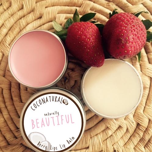 Naturally BEAUTIFUL Berry Lips Lip Balm