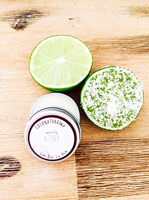 Naturally KIND Lime Lips Lip Balm