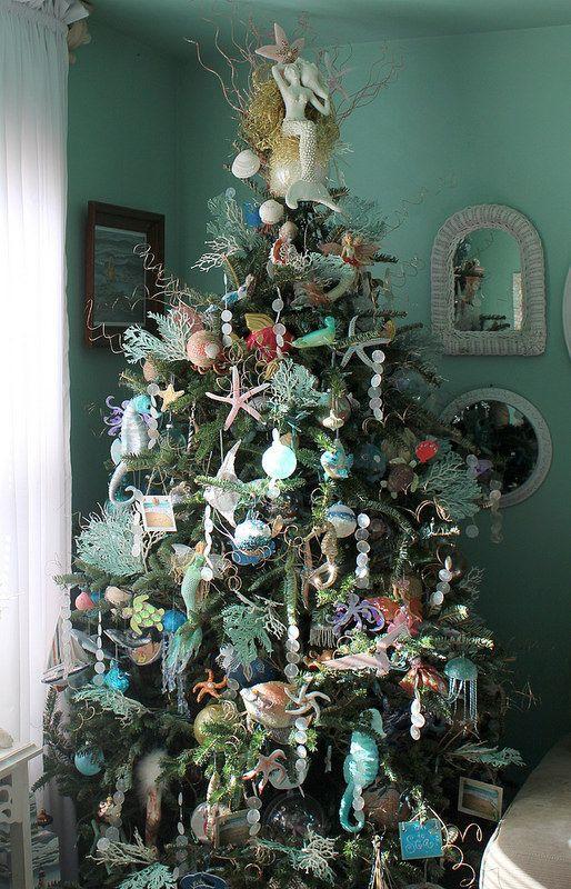 mermaid christmas tree