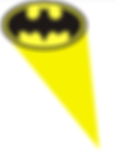 batman logo superhelden feest thema kinderfeestjes thuis - themakisten