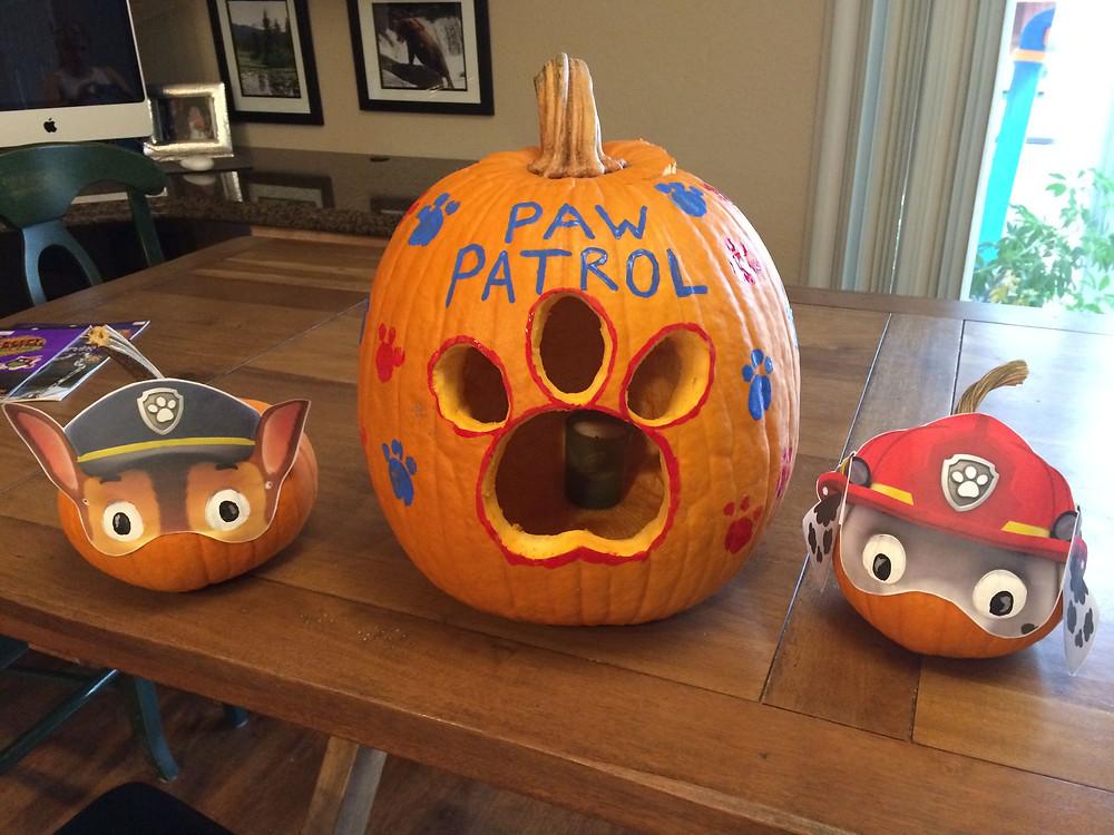 Paw Patrol pompoen