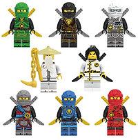 Ninjago lego poppetjes