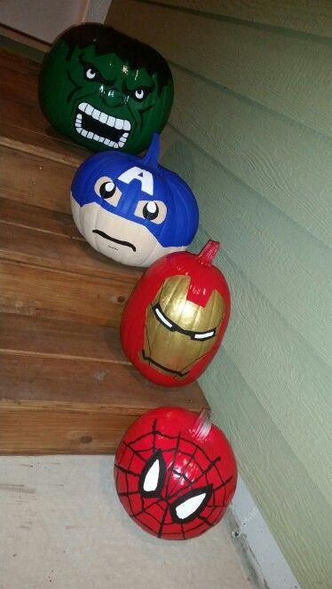 superhelden pompoenen