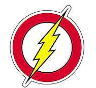logo the flash - theme kinderfeestjes thuis - themakisten