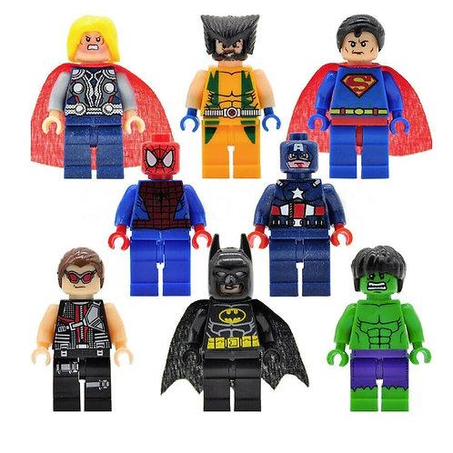 Superhelden LEGO poppetjes