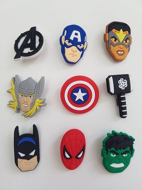 Superhelden pinnetjes
