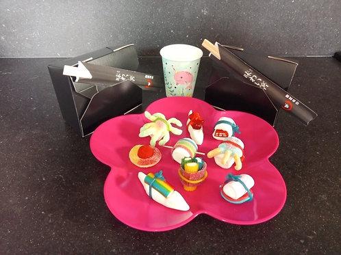 Zeemeerminnen snoep sushi