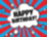 superhelden happy birthday achtergrond- theme kinderfeestjes thuis - themakisten