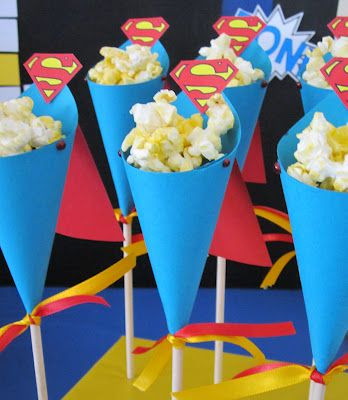 superhelden popcorn