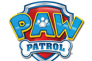 Paw patrl logo kinderfeestje