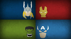 superhelden achtergrond- theme kinderfeestjes thuis - themakisten