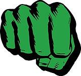 logo the hulk - theme kinderfeestjes thuis - themakisten