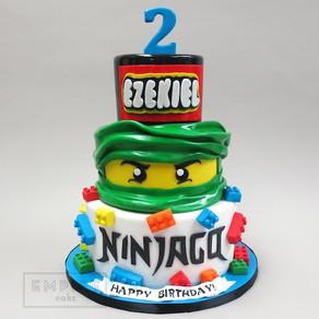 Leuke LEGO Ninjago taarten