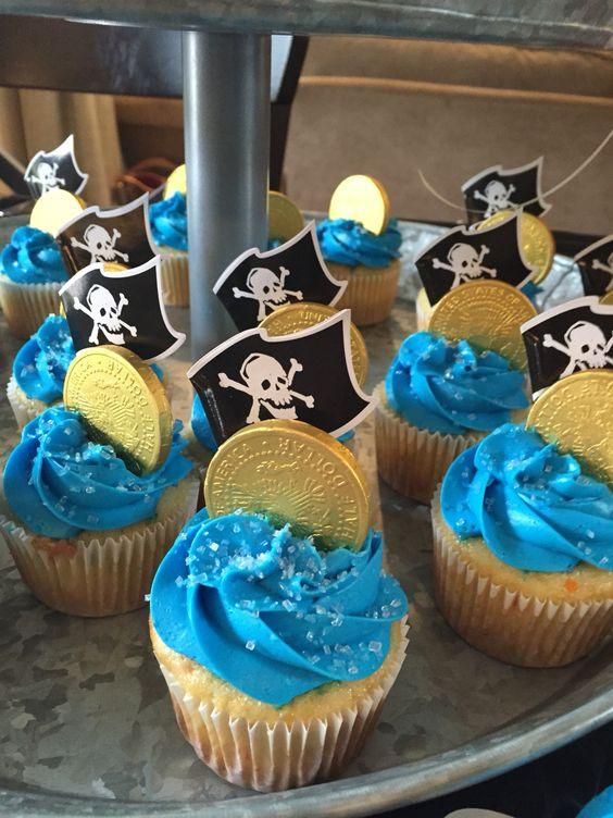 cupcake piraat