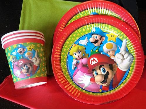 Super Mario eetpakket