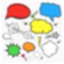 tekstballonnen superhelden feest thema kinderfeestjes thuis - themakisten