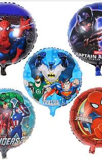 5 folie ballonnen