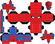 spiderman block - thema kinderfeestjes thuis themakist